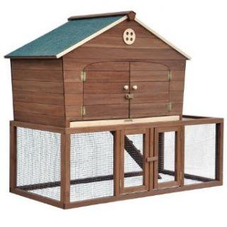 Merry Pet Ranch House Chicken Coop: Pet Supplies