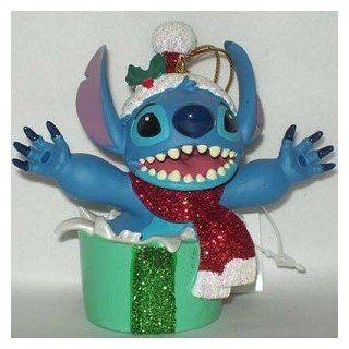 Disney Holiday Stitch Christmas Present Ornament   Disney Theme Parks Exclusive & Limited Availability