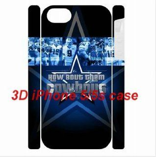 3D Dual Protective iPhone 5/5s Hard back cover Dallas Cowboys background by hiphonecases great for a Christmas present: Cell Phones & Accessories