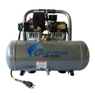 California Air Tools CAT 1610A Ultra Quiet and Oil Free 1.0 Hp 1.6 Gallon Aluminum Tank Air Compressor   Ultra Quite Air Compressor