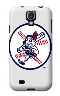 Ipof Cleveland Indians MLB Design Samsung Galaxy S4/samsung 9500 Case Authentic: Cell Phones & Accessories