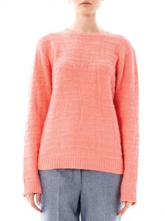 Crocodile stitch angora sweater  Richard Nicoll  MATCHESFASH