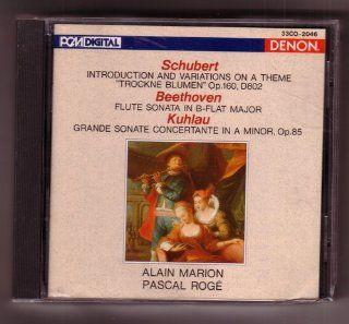 Schubert  Introduction & Variations, D. 802 / Beethoven Sonata in B flat / Kuhlau Grande Sonate concertante, Op. 85 Music