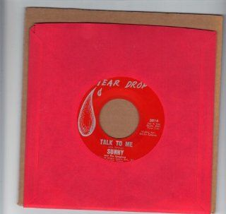 SUNNY and THE SUNGLOWS/Talk To Me/45rpm record Music