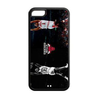 Happinessexplorer NBA Chicago Bulls Superstar Derrick Rose Best Durable Silicone iPhone 5C Case Electronics