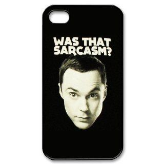 Diy Case Sheldon Cooper Iphone 4/4S Case Hard Case Fits Sprint, T mobile, AT&T and Verizon IPhone 4s Case 101793: Cell Phones & Accessories
