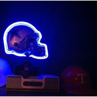NFL Dallas Cowboys Neon Helmet  Sports Fan Household Lamps  Sports & Outdoors