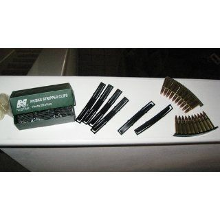 NcStar AK/SKS Stripper Clips (20 Pack) (AAKC)  Gun Ammunition And Magazine Pouches  Sports & Outdoors