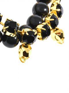 Crystal skull and bead bracelet  Joomi Lim