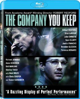 The Company You Keep [Blu ray]: Robert Redford, Shia LaBeouf, Julie Christie, Nick Nolte, Chris Cooper, Susan Sarandon, Stanley Tucci, Brit Marling, Sam Elliott, Jackie Evancho, Brendan Gleeson, Terrence Howard, Bill Holderman, Craig J. Flores, Jonathan Sh
