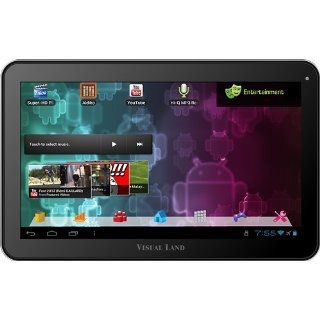 Visual Land Prestige 10 Inch Tablet with 16GB Memory (Purple) : Tablet Computers : Computers & Accessories