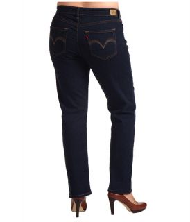 Levis® Plus Plus Size 512™ Perfectly Shaping Straight Leg Hammered Dark