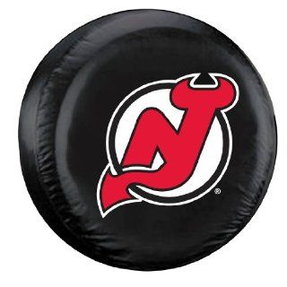 New Jersey Devils Black Tire Cover   Standard Size : Automotive Tire Covers : Sports & Outdoors