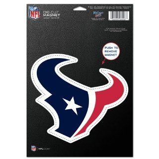 "Houston Texans Official NFL 6""x9"" Car Magnet : Sports Related Magnets : Sports & Outdoors"