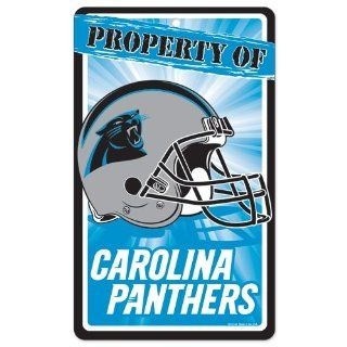 "Carolina Panthers Official NFL 11""x17"" Sign : Sports Related Merchandise : Sports & Outdoors"