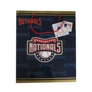 MLB Washington Nationals Gift Bag, Large : Sports Related Collectibles : Sports & Outdoors