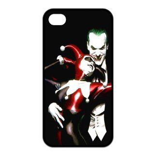 Batman The Joker and Harley Quinn Love Unique Durable TPU Rubber Case Cover for Apple Iphone 4 4S Custom Design UniqueDIY: Cell Phones & Accessories