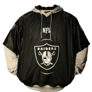 NFL Oakland Raiders Gridiron Pullover Sweatshirt XX Large : Sports Related Merchandise : Sports & Outdoors