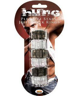 Hung   pleasure stars black/clear (Pack Of 5) Health & Personal Care