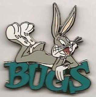 Warner Brothers Looney Tunes Bugs Bunny Name in Green Pin  Other Products