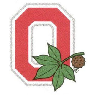 Ohio State Buckeyes Tattoos Block O Game Face : Sports Related Merchandise : Sports & Outdoors