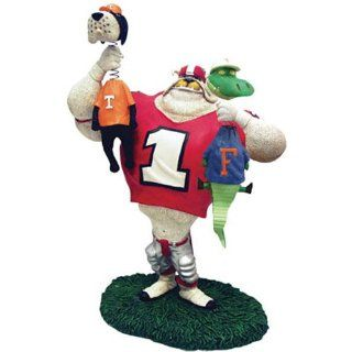 Georgia Bulldogs Team Lester Double Choke Rivalry Ornament NCAA College Athletics Fan Shop Sports Team Merchandise   Sports Related Merchandise