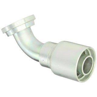 "EATON Weatherhead Coll O Crimp 43024U H56 60 Degree Split Flange Tube Elbow Fitting, Steel, 1 1/2"" Hose ID, 2"" Nominal Flange Size: Industrial & Scientific"