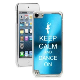Apple iPod Touch 5th Generation Light Blue 5B250 hard back case cover Keep Calm and Dance On : MP3 Players & Accessories