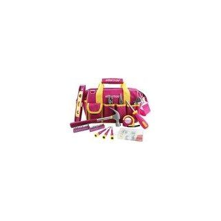Ladies Pink 32 Piece Tools Set: Hand Tool Sets: Industrial & Scientific