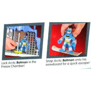 Imaginext DC Super Friends Exclusive Playset MR. FREEZE Headquarters Toys & Games