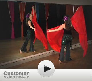 Fabulous Four Yard Veils with Shoshanna   Belly Dance: Shoshanna, Michelle Joyce: Movies & TV