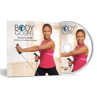 Body Gospel Sweat & Sculpt Workout DVD Get Maximum Results in 20 Minutes  Exercise And Fitness Video Recordings  Sports & Outdoors