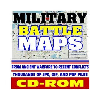 Military Battle Maps   Historic Campaigns from Ancient Warfare to Recent Conflicts, Thousands of Image Files   Revolution, Civil War, World War I and II, Korea, Vietnam, Gulf War (CD ROM): U.S. Government: 9781422009611: Books