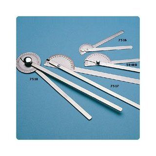 """Stainless Steel Goniometers 180o """"Robinson"""" Pocket Goniometer   Model 7516 Health & Personal Care"""