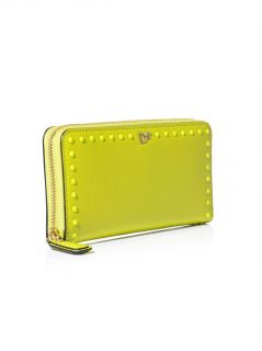 Studded leather wallet  Diane Von Furstenberg  MATCHESFASHIO