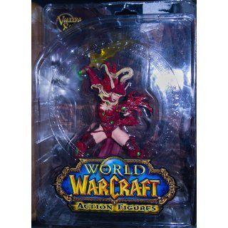 World of Warcraft Series 1 Valeera Sanguinar Blood Elf Rogue Action Figure Toys & Games