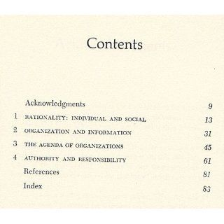The Limits of Organization (Fels Lectures on Public Policy Analysis) (9780393093230): Kenneth J. Arrow: Books