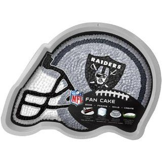 NFL Oakland Raiders Cake/Jell O Pan : Sports Related Tailgater Mats : Sports & Outdoors