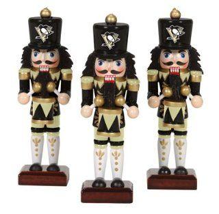 Pittsburgh Penguins Nutcracker Ornaments 3pk NHL Hockey Fan Shop Sports Team Merchandise : Sports Related Merchandise : Sports & Outdoors