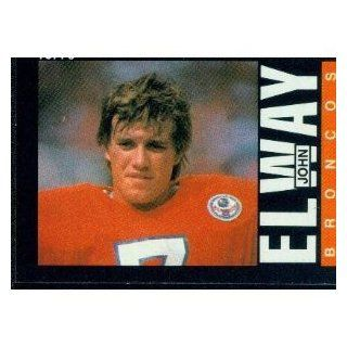1985 Topps Denver Broncos Football Team Set . . . Featuring John Elway : Sports Related Trading Cards : Sports & Outdoors