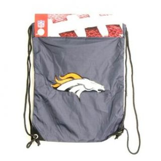 Denver Broncos NFL Cinch Bag : Sports Related Merchandise : Clothing
