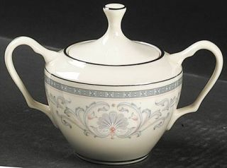 Lenox China Mt. Vernon Sugar Bowl & Lid, Fine China Dinnerware   Presidential,Gr