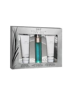 Perry Ellis Mens Perry Ellis 360 Gift Set for Men