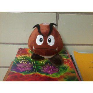 "Super Mario Plush   5"" Goomba Soft Stuffed Plush Toy Japanese Import Toys & Games"
