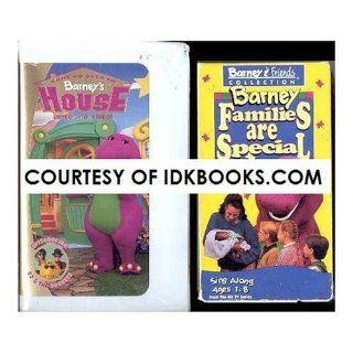 **Children's VHS: Come On Over To Barney's House *Plus Free Gift: Barney Families Are Special *Ships Same Day With Free Tracking*: Barney, BJ: Movies & TV