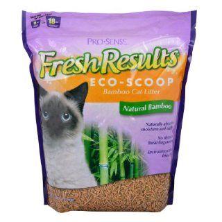 Pro Sense Fresh Results Eco Scoop Bamboo Cat Litter, 8 Pound : Pet Litter : Pet Supplies