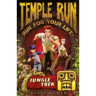 Temple Run Book One Run for Your Life: Jungle Trek (Temple Run: Run for Your Life!): Chase Wilder: 9781606845714:  Kids' Books