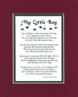 To My Little Boy Son Saying Home Decor Wall Sign   Childrens Wall Decor