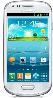 Samsung GT i8190 Galaxy S3 Mini White factory Unlocked 3G 900/1900/2100: Cell Phones & Accessories