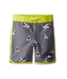 Quiksilver Kids Sharkbait Boardshort Boys Swimwear (Black)